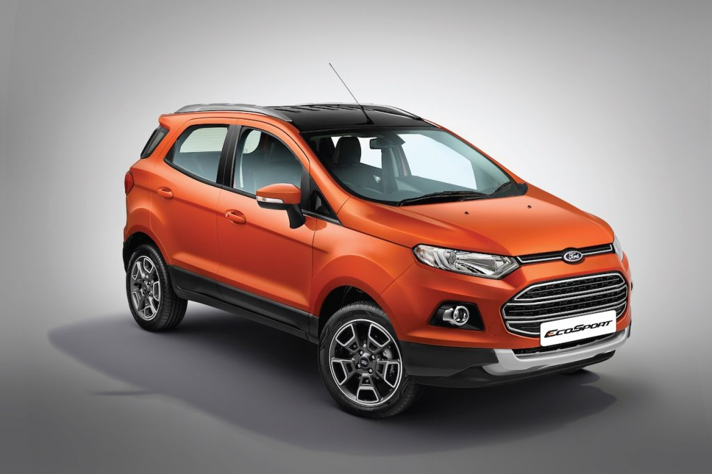 Ford EcoSport Platinum Edition at INR 10.39 lakhs
