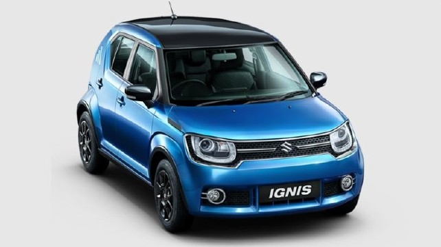 All NewMaruti Suzuki Ignis at Rs 4.69 lakh