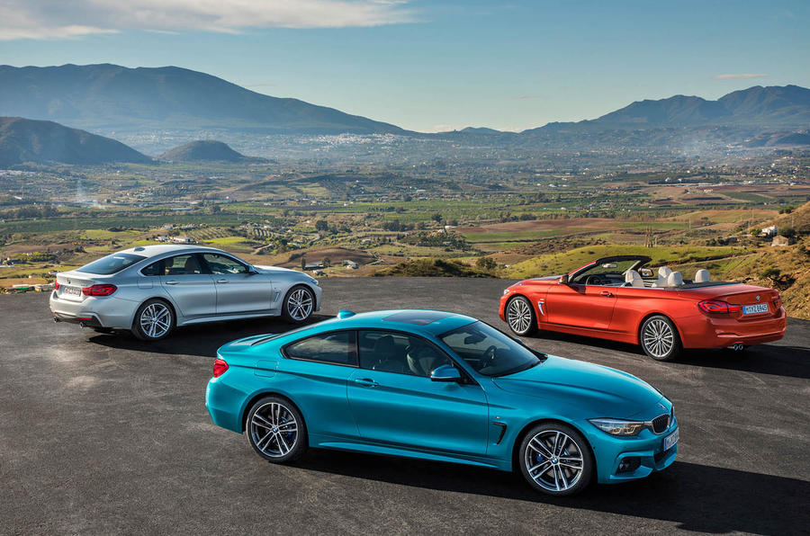 2017 BMW 4 Series revealed with update