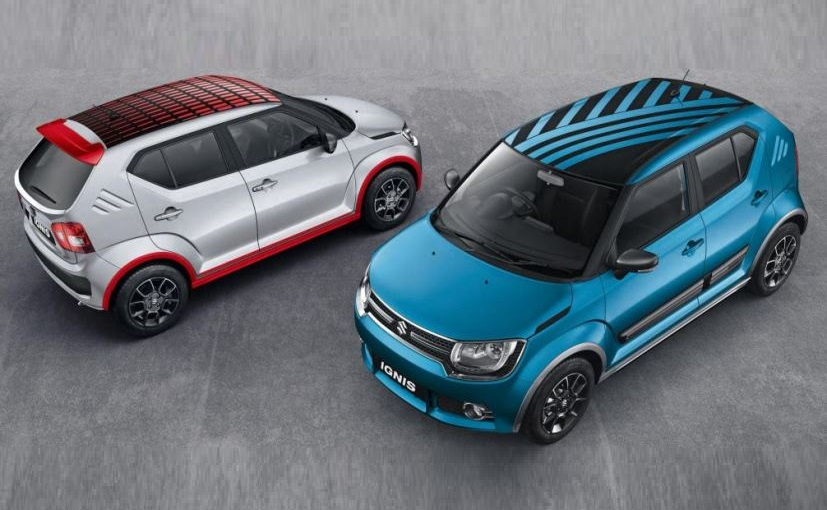 Maruti Ignis accessories reviled