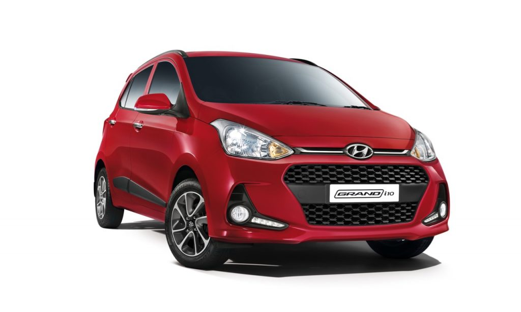 2017 Hyundai Grand i10 revealed at INR 4.58 Lakhs