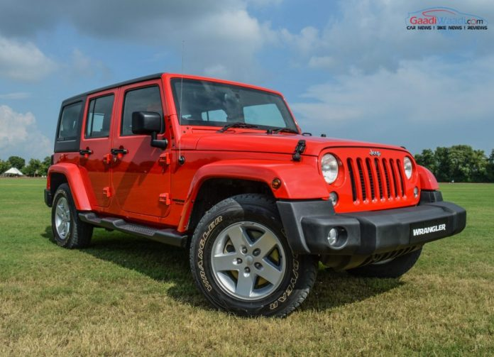 Jeep Wrangler petrol India now available at Rs 56 lakh