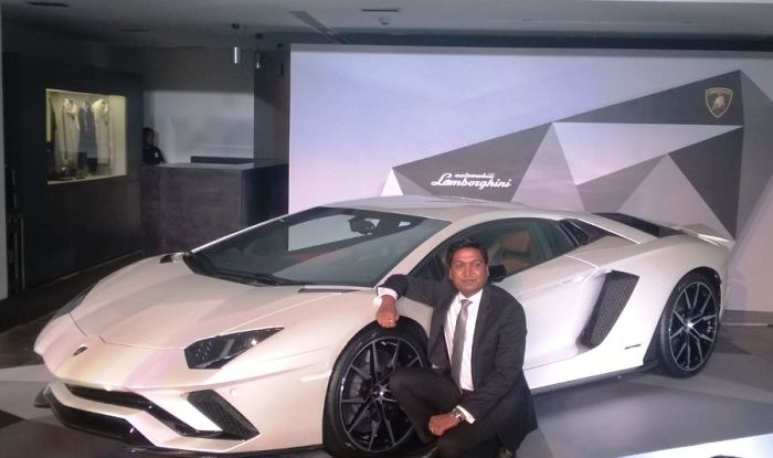 Lamborghini Aventador S Unveil  in India at Rs 5.01 Crore