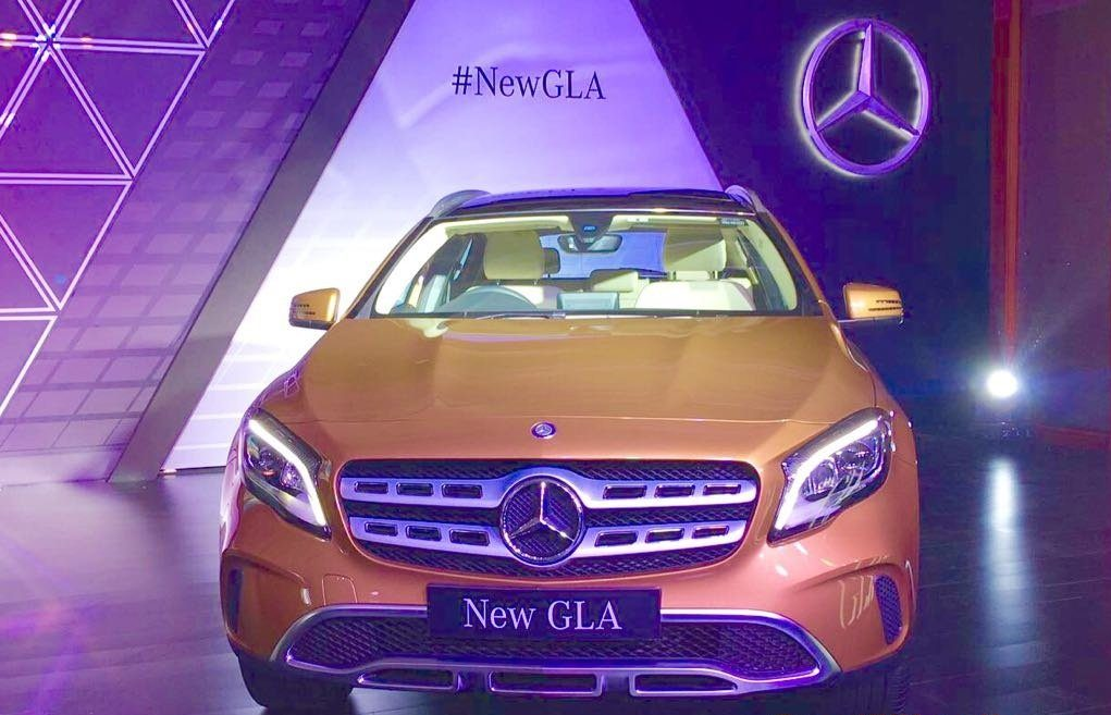 2017 Mercedes GLA unveil in India, begins at INR 30.65 lakh