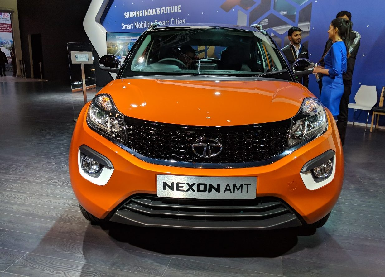 Tata Nexon AMT Revealed at INR 9.41 lakhs