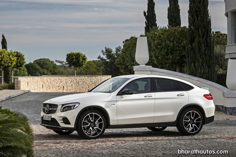 Mercedes-AMG GLC 43 Coupe will come to India on 3 November